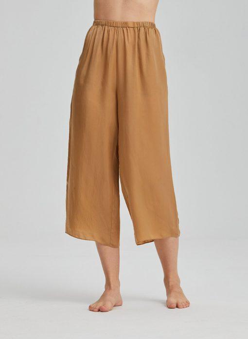 Women Rayon Wide-Leg Pants