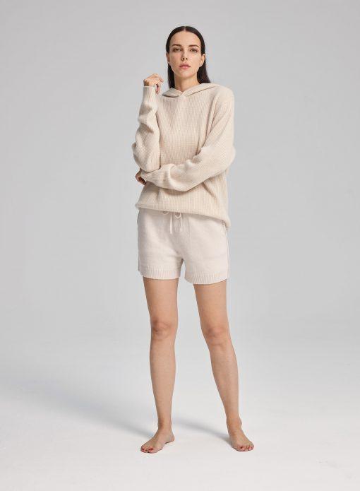 Casual Drawstring Waist Shorts