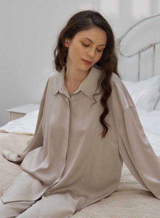 Women's Long Sleeve Pajama Top