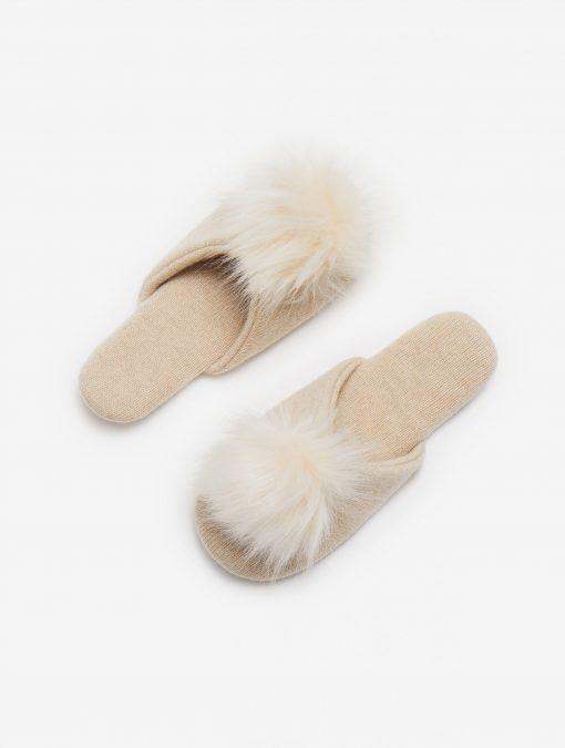 100% Cashmere Indoor Slippers