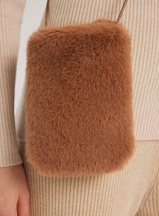 Soft Warm Shoulder Crossbody Purse