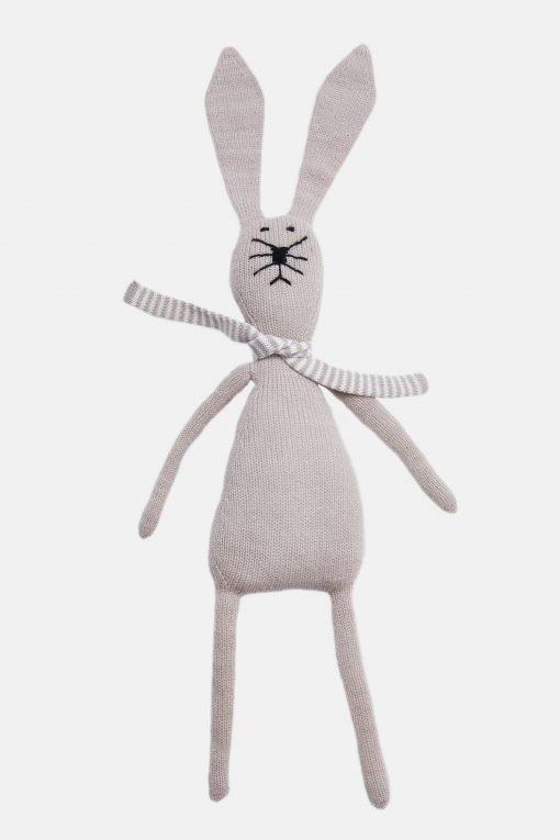 Wool Bunny Stuffed Animal