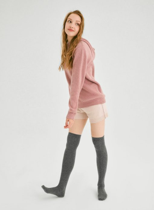 Cashmere Over-Knee Stockings