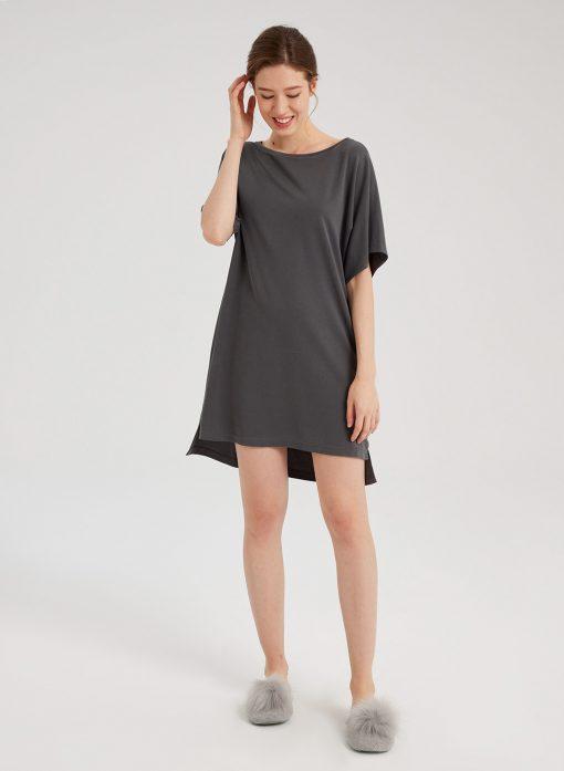 Short Sleeve T-shirt Tunic Dress