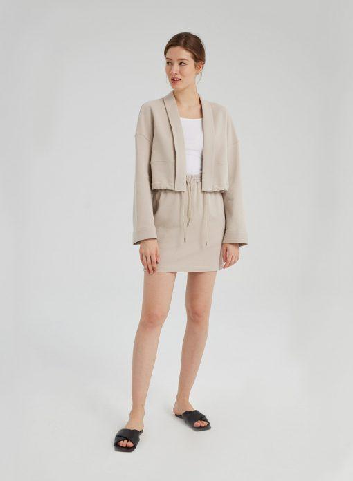 Cotton Kimono Short Outfit Set