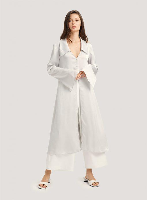 V-Neck Midi Nightgown & Sleep Shirt