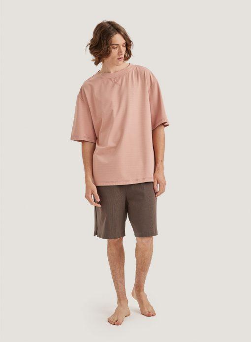 Oversized Short Sleeve Pocket T-Shirt