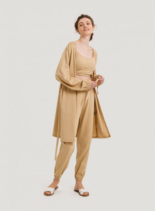 Lightweight Belted Robe