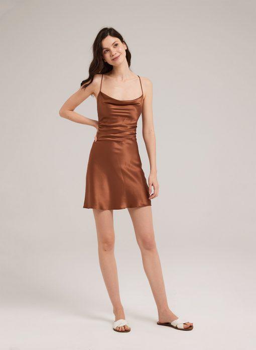 Pure Silk Body-con Slip Dress