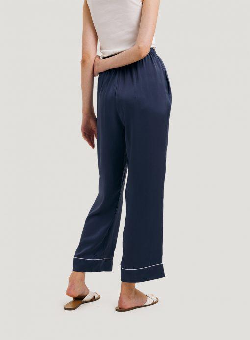 satin pants set