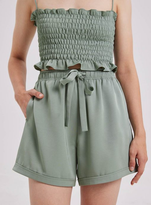 Relaxed Drawcord Shorts