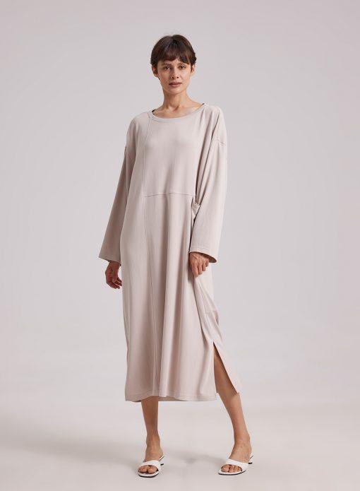 Modal Pocket Midi Dress